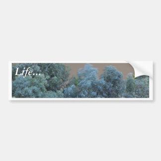 Wind Smoke Bumper Sticker