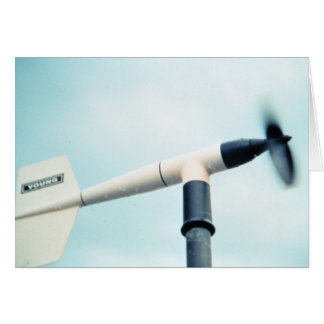 Wind Speed and Direction Instrument Card