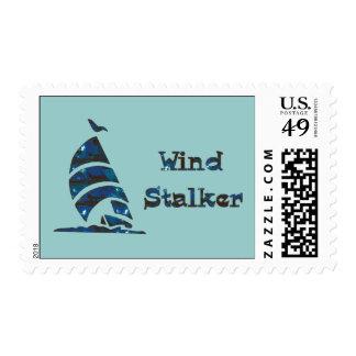 Wind Stalker Postage Stamps