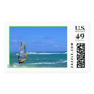 Wind Surfer at Diamond Head Postage