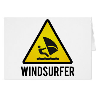 Wind surfer card