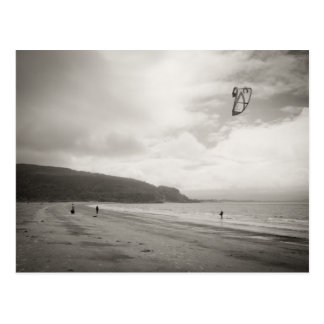 Wind Surfers in Argyll & Bute Postcard