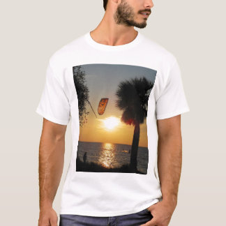 wind surfing and sunsets T-Shirt