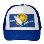 Wind Surfing custom Trucker Hat