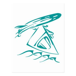 Wind Surfing Postcard