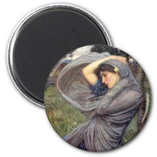 Wind Swept - Round Magnet