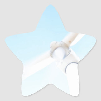 Wind Tower Star Sticker