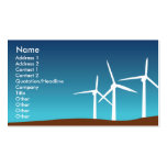Wind Towers - Business Business Card Template