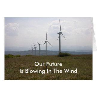 Wind-turbine-13, Note Card