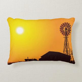 Wind Turbine Accent Pillow