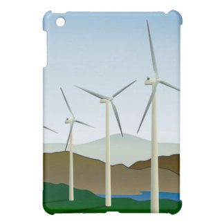 Wind Turbine by Lake iPad Mini Cases
