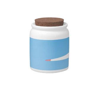 Wind turbine candy jars