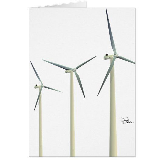 Wind Turbine Card