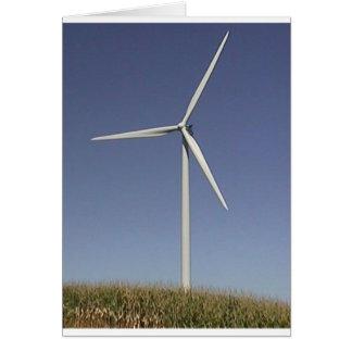 Wind Turbine Card
