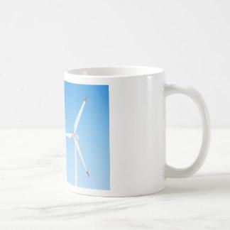 Wind turbine coffee mug
