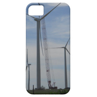 Wind Turbine Construction iPhone Case iPhone 5 Covers
