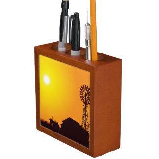 Wind Turbine Pencil Holder
