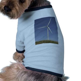 Wind Turbine Doggie T Shirt