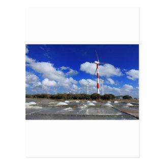 Wind turbine farm Sri Lanka Postcard