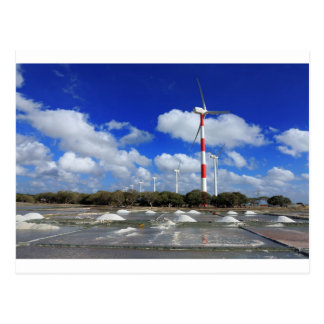Wind turbine farm Sri Lanka Postcard