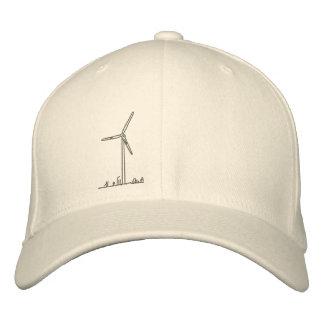 Wind Turbine Hat_8036 Embroidered Baseball Cap