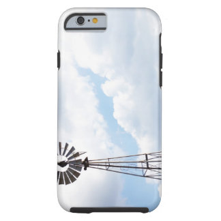 Wind Turbine in field iPhone 6 Case