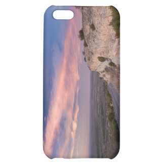 Wind Turbine in west Texas at Sunset iPhone 5C Covers