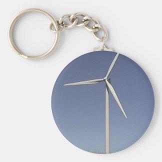 Wind Turbine Keychain
