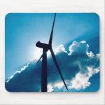 Wind turbine mouse pad
