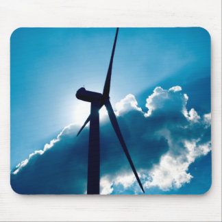 Wind turbine mouse pad