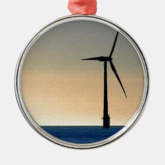 Wind Turbine Christmas Ornaments