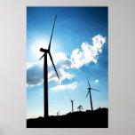 Wind turbine posters