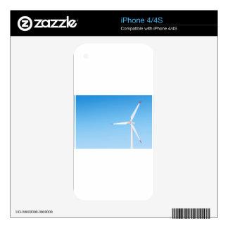 Wind turbine skin for iPhone 4