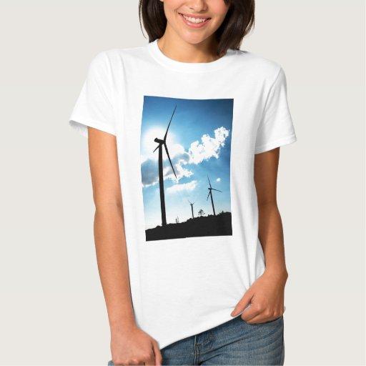Wind turbine tee shirt