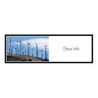Wind Turbines Business Card