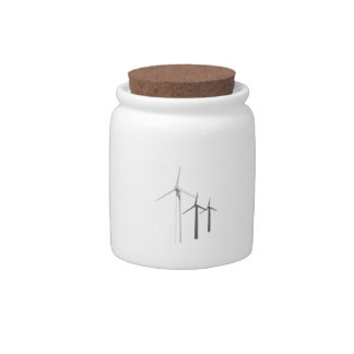 WIND TURBINES CANDY DISHES