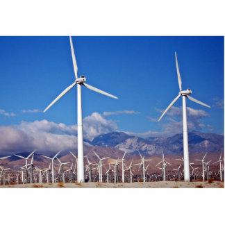 Wind turbines cutout