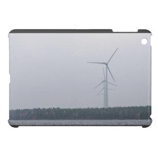 Wind turbines generate power iPad mini case