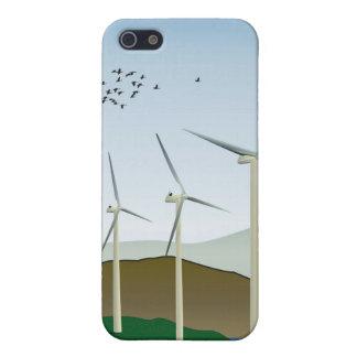 Wind Turbines iPhone SE/5/5s Cover