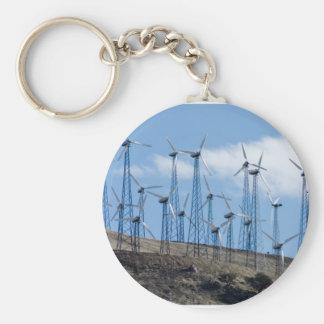 Wind Turbines Keychain