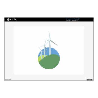 Wind Turbines Laptop Decal