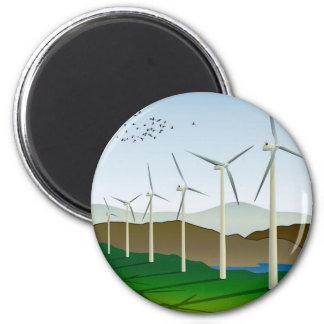 Wind Turbines Magnet