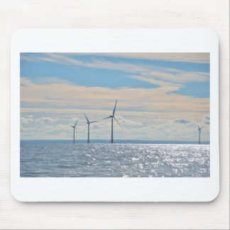 Wind Turbines Mouse Pad