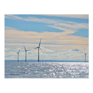 Wind Turbines Postcard