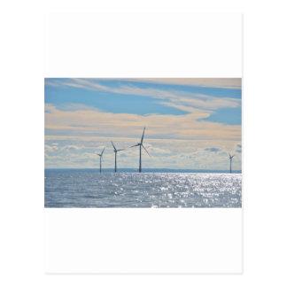 Wind Turbines Postcard