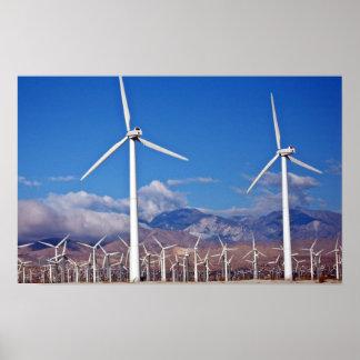 Wind turbines posters