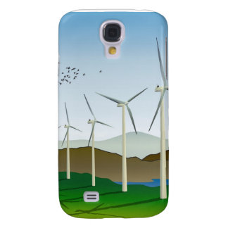 Wind Turbines Samsung Galaxy S4 Case