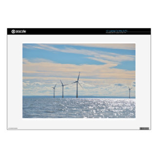 """Wind Turbines Decal For 15"""" Laptop"""