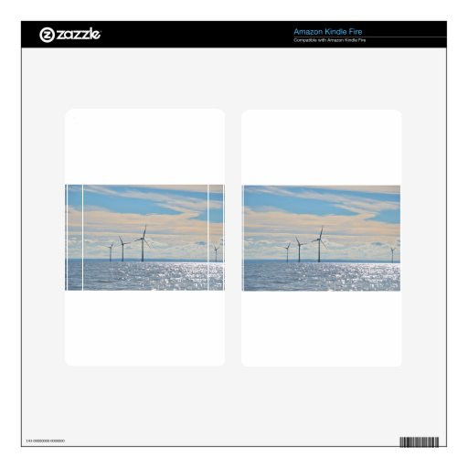 Wind Turbines Skins For Kindle Fire