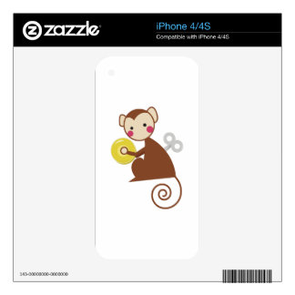 WInd Up Toy Decals For iPhone 4S